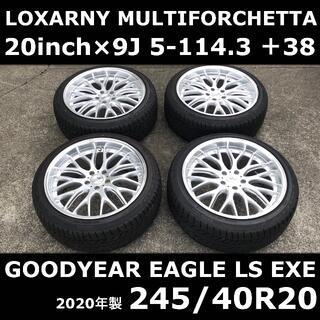 Goodyear - 【20インチ】ロクサーニ ホイール & 245/40R20 タイヤ アルファード