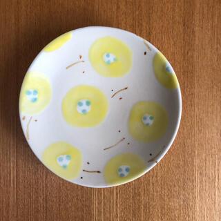 石木文さん ポピー皿