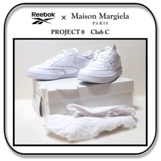 マルタンマルジェラ(Maison Martin Margiela)の24cm: リーボックx メゾン マルジェラ PROJECT 0 CC US6(スニーカー)