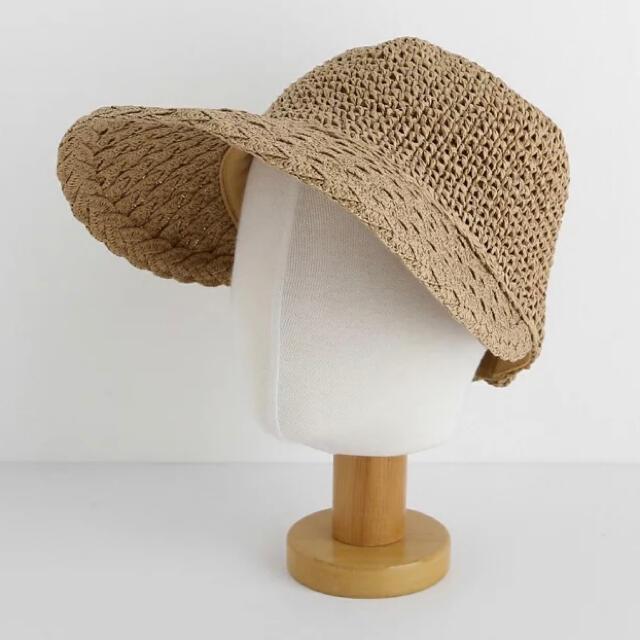 dholic(ディーホリック)のDHOLIC ペーパーヤーンキャップ レディースの帽子(麦わら帽子/ストローハット)の商品写真