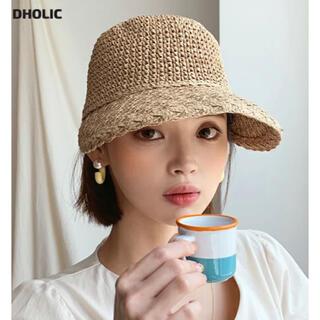 dholic - DHOLIC ペーパーヤーンキャップ
