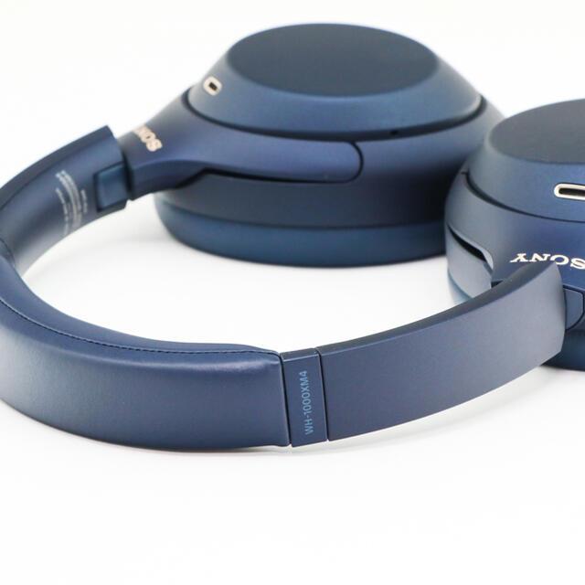 SONY(ソニー)のレア!SONY WH-1000XM4 ブルーブラック限定色ワイヤレスヘッドホン スマホ/家電/カメラのオーディオ機器(ヘッドフォン/イヤフォン)の商品写真