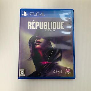 【送料無料】リパブリック republic PS4 ゲーム ソフト