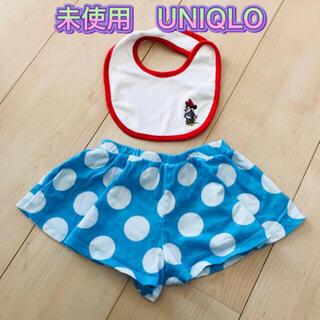ユニクロ(UNIQLO)の未使用 ユニクロ  ミニーちゃん(パンツ)