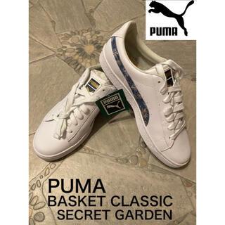 PUMA - プーマ PUMA BASKET CLASSIC SECRET GARDEN