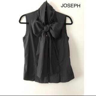 ドゥロワー(Drawer)のJOSEPH ビッグリボンブラウス マチャット ヨリ ブラミンク(シャツ/ブラウス(半袖/袖なし))
