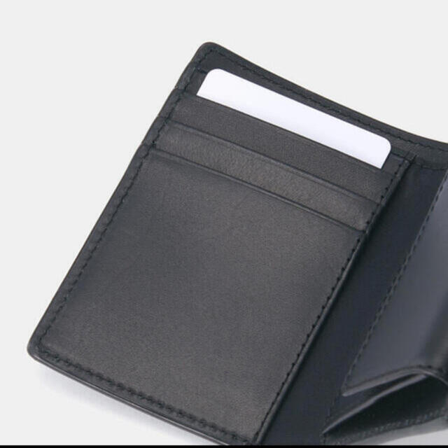 MUJI (無印良品)(ムジルシリョウヒン)の無印良品 イタリア産ヌメ革 三つ折り財布 メンズのファッション小物(折り財布)の商品写真