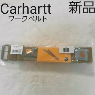 カーハート(carhartt)の新品 Carhartt ロゴ入りワークベルト ブラウン(ベルト)