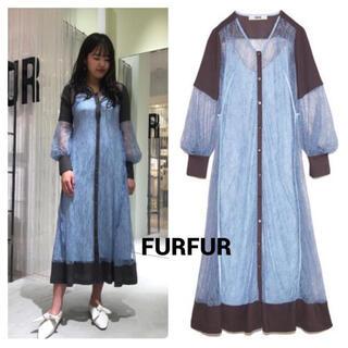 fur fur - FURFUR レースガウンワンピース