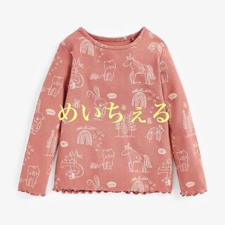 NEXT - 【新品】next ブラッシュキャラクター 長袖リブTシャツ(ヤンガー)