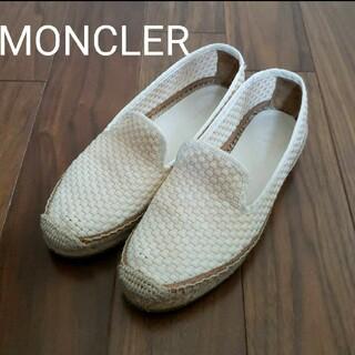 モンクレール(MONCLER)のMONCLER フラットシューズ(スリッポン/モカシン)