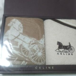celine - 新品未使用セリーヌのフェイスタオル2枚セット