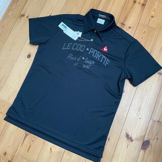 le coq sportif - 新品 ルコック ゴルフ ポロシャツ メンズ L ブラック 黒
