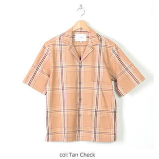 1LDK SELECT - 新品 STUDIO NICHOLSON 19ss キャンプカラーシャツ