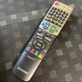 シャープ(SHARP)のシャープ テレビ リモコン gb047wjsa(テレビ)