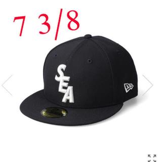 NEW ERA - 【7 3/8】 WIND AND SEA NEW ERA 59FIFTY CAP