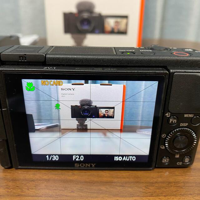 SONY(ソニー)のVLOGCOM ZV-1 きりんさん専用 スマホ/家電/カメラのカメラ(コンパクトデジタルカメラ)の商品写真