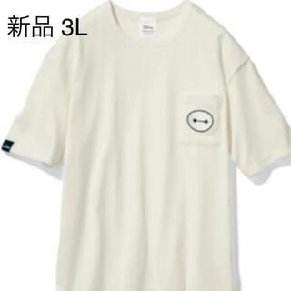 Disney - ディズニー ベイマックス  Tシャツ 半袖 刺繍 ワッペン ポケット