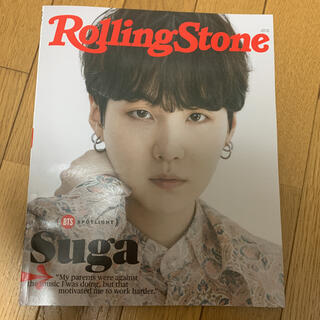 防弾少年団(BTS) - Rolling Stone BTS個人表紙〈SUGA,ユンギ〉