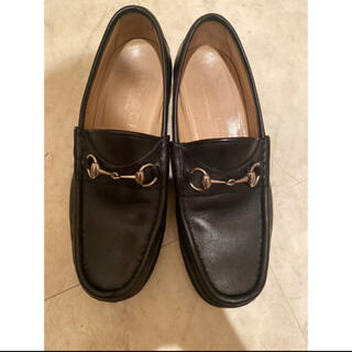 グッチ(Gucci)のGUCCI  グッチ ローファー 40 1/2 E(ローファー/革靴)