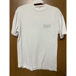 OFF-WHITE - KAR L'Art de L'Automobile ロゴTシャツ