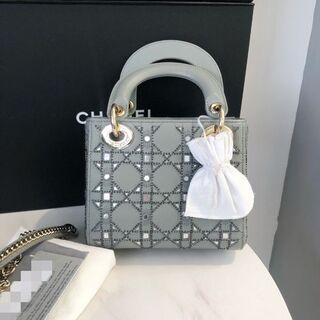 Christian Dior - Dior レディディオール ハンドバッグ 美品