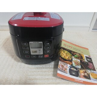 KOIZUMI - 【中古格安】電気圧力鍋 KOIZUMI KSC-3501 レシピ本セット