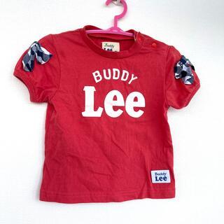 リー(Lee)のLee 80 赤 リボン t-シャツ 女の子(Tシャツ)