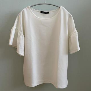 ブリスポイント(BLISS POINT)のBLISS POINT  袖フリル半袖カットソー(カットソー(半袖/袖なし))