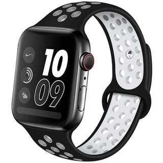 【B21】Apple Watchスポーツバンド38/40mm(ブラック)(その他)