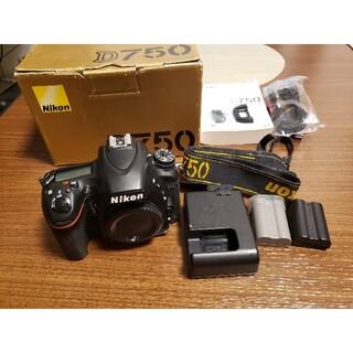 Nikon - Nikon D750 本体のみ フルサイズ