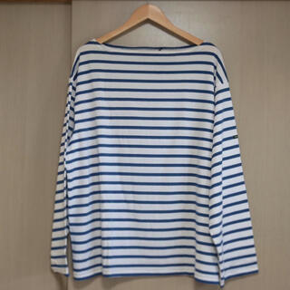 COMOLI - OUTIL 21SS/TRICOT AAST バスクシャツ