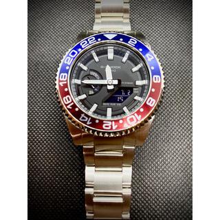 ジーショック(G-SHOCK)のG-SHOCK GA2100 カシオーク カシマスター カスタムシルバーペプシ(腕時計(アナログ))