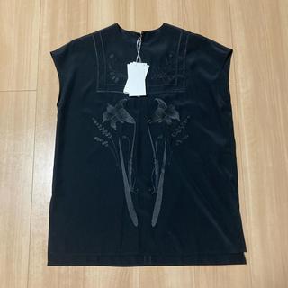 mame - 新品未使用 mame kurogouchi 刺繍フレンチスリーブチュニック