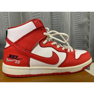 NIKE - Nike SB Dunk High Future Court Red 26.5