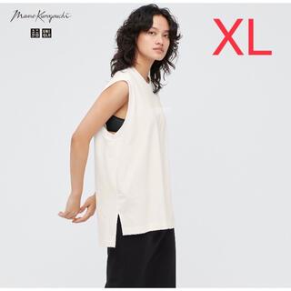 UNIQLO - ユニクロ UNIQLO × mame エアリズムコットンオーバーサイズT XL