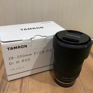 TAMRON - ほぼ新品✨ 28-200mm F2.8-5.6 Di III RXD
