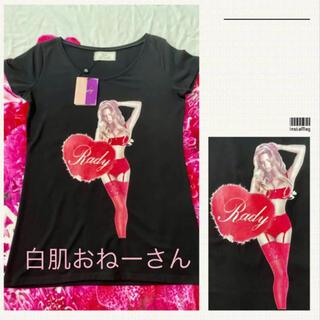 Rady - Rady♡ハートガールTシャツ♡ブラック