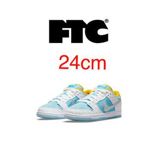 エフティーシー(FTC)のFTC × NIKE SB DUNK LOW 銭湯ダンク 24cm(スニーカー)