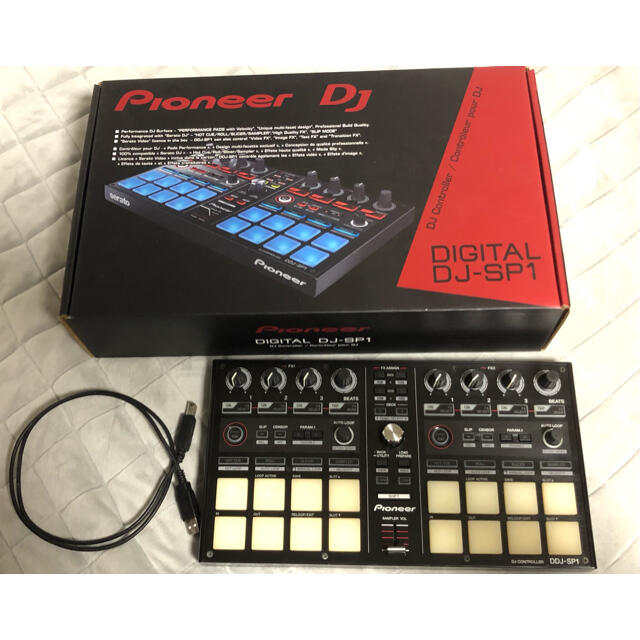 Pioneer(パイオニア)のPioneer DDJ-SP1 楽器のDJ機器(DJコントローラー)の商品写真