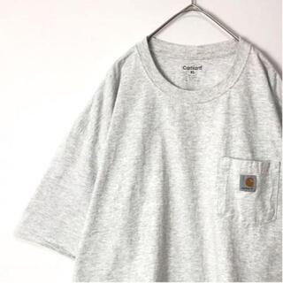carhartt - 【大人気】古着 Carhartt Tシャツ ビッグシルエット ポケ付き