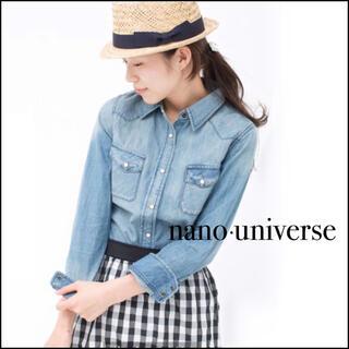 nano・universe - nano・universe デニムシャツ ダンガリーシャツ*アーバンリサーチ