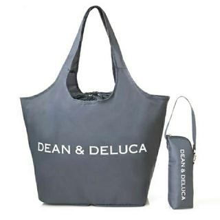 DEAN & DELUCA - DEAN & DELUCA レジかご買物バッグ+ストラップ付き保冷ボトルケース