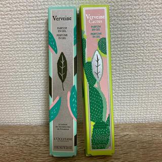 ロクシタン(L'OCCITANE)のロクシタン ジェル状香水2本セット♡(香水(女性用))