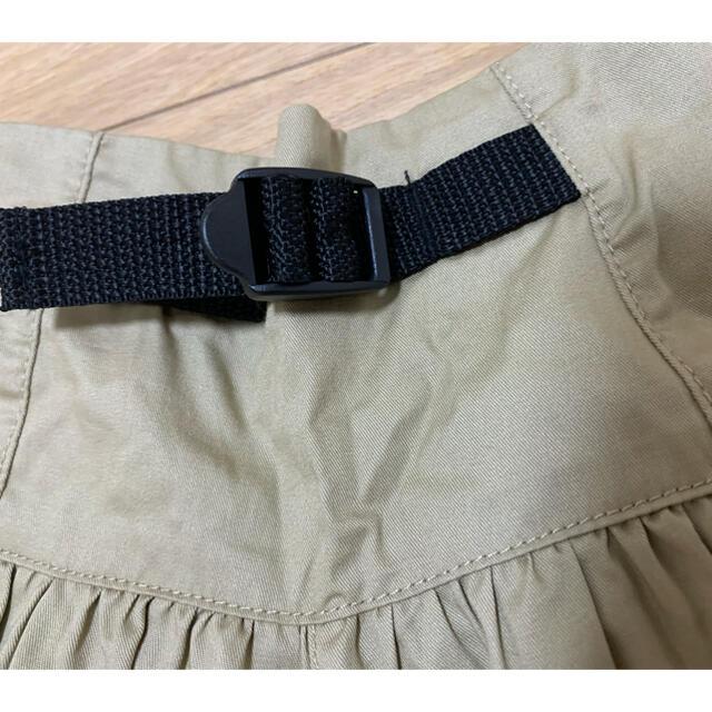 GU(ジーユー)のGU ガウチョパンツ ワイドパンツ 110 キッズ/ベビー/マタニティのキッズ服女の子用(90cm~)(パンツ/スパッツ)の商品写真