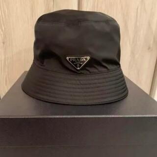 PRADA - バケットハット 帽子 prada プラダ ハット M