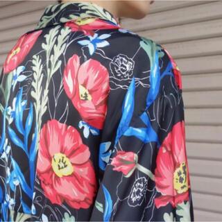 ジエダ(Jieda)のJieDa FLOWER PATTERN L/S SHIRT BLACK 2(シャツ)