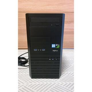ゲーミングPC Core i7 7700 メモリ32GB GTX1050 Ti