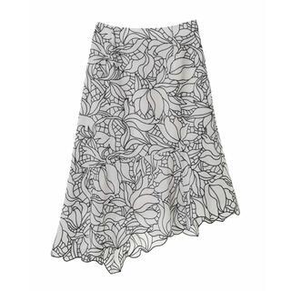 31 Sons de mode - 31sonsdemode 配色刺繍スカート