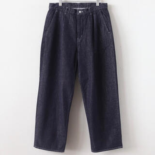 Graphpaper Colorfast Denim 2 Tuck Pants